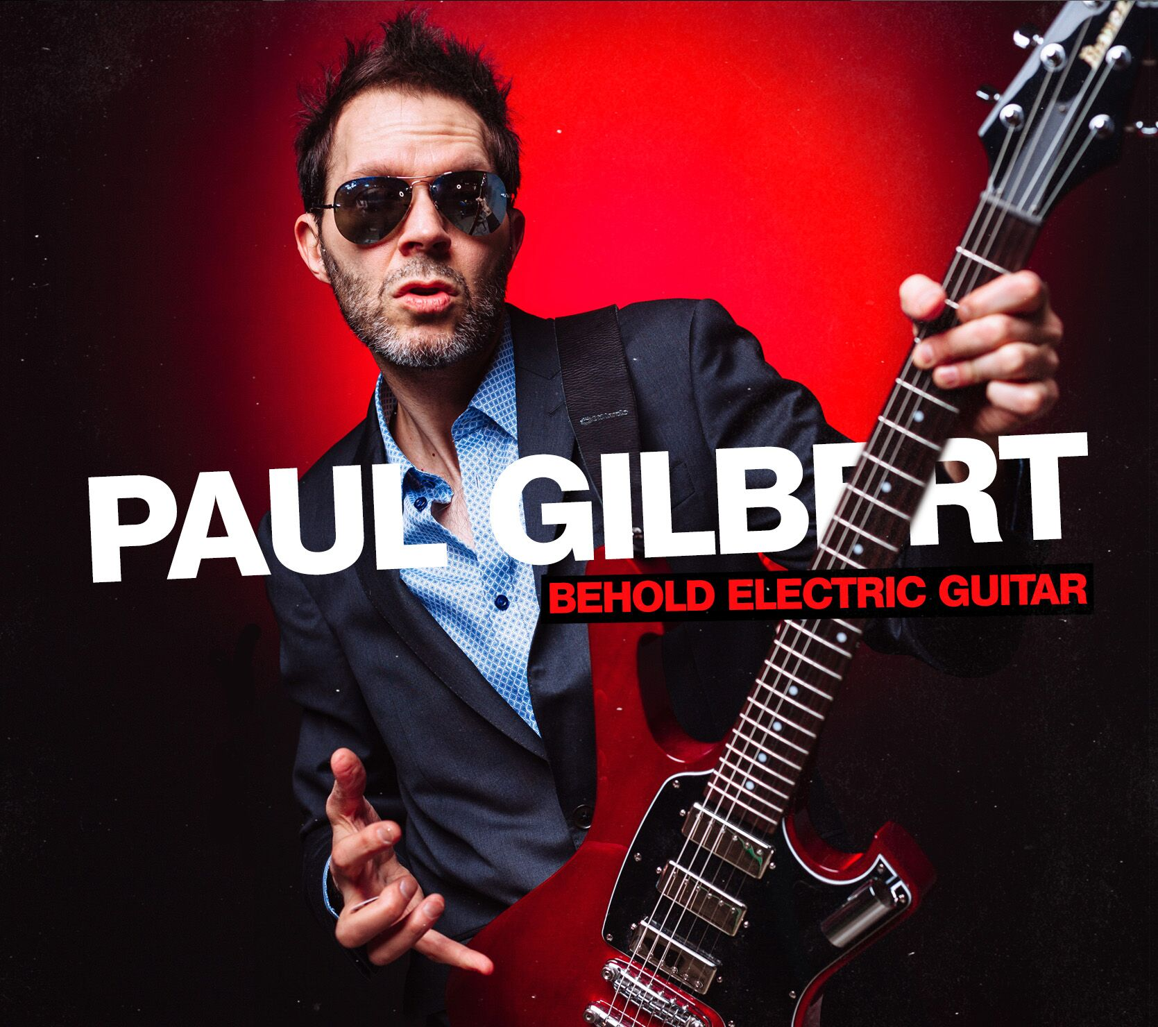 "Paul Gilbert Shares Funky New Track, ""A Herd of Turtles"" 