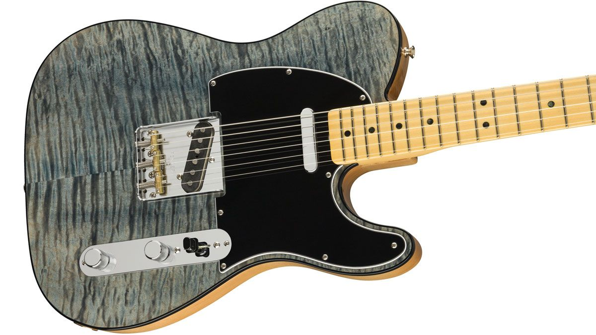 Fender's new Rarities Maple Top Telecaster is a Quilty pleasure