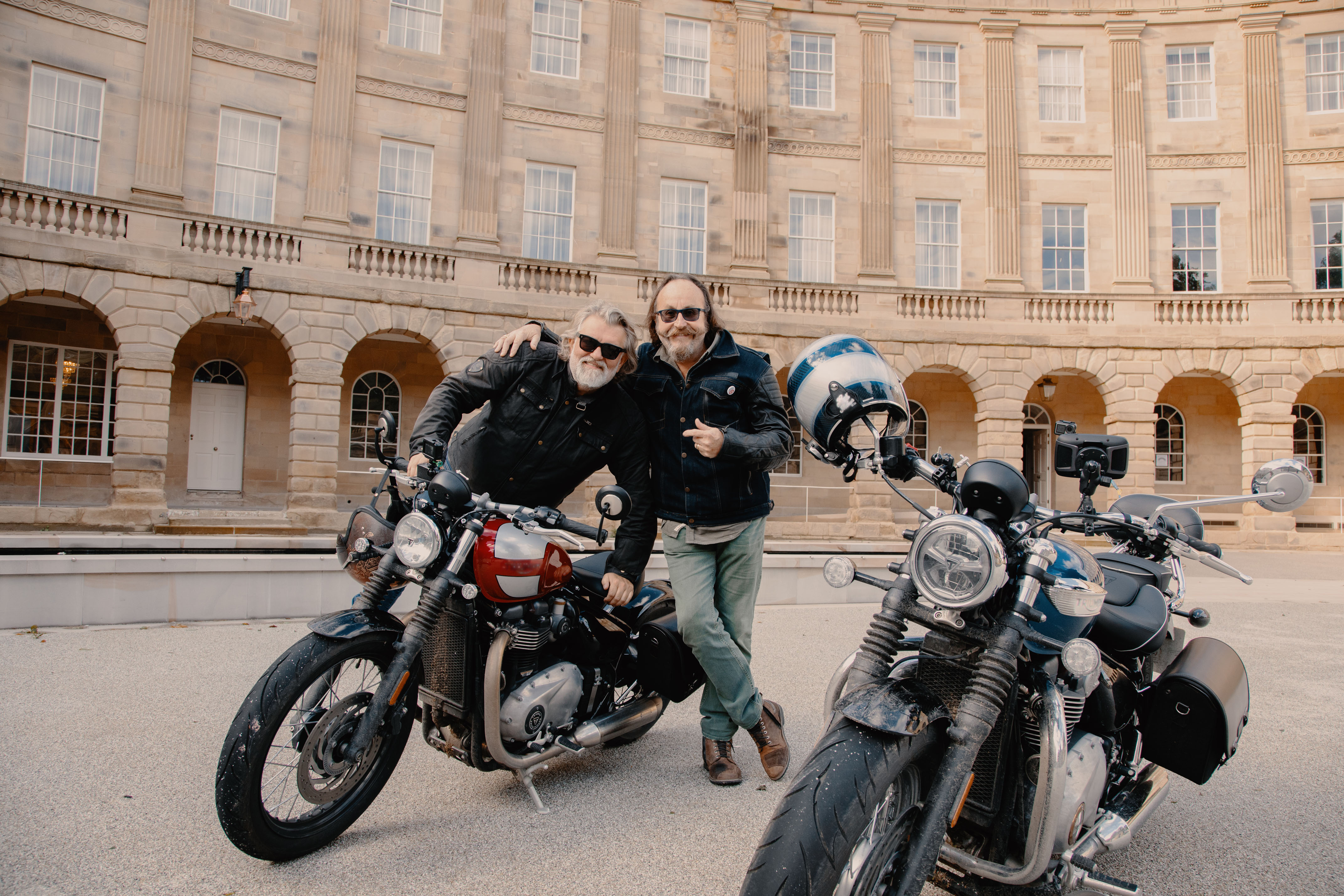 Northern exposure...The Hairy Bikers on tour in familiar territory.