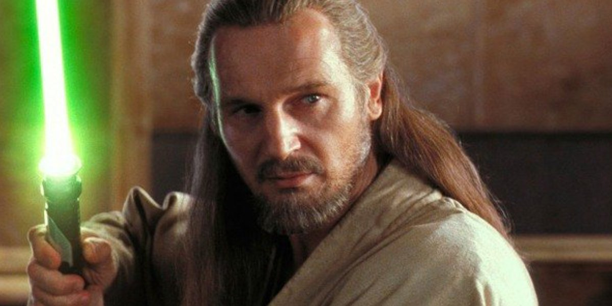 Liam Neeson is his sole Star Wars film
