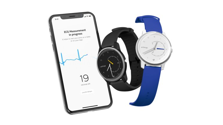 Withing's new Move ECG Smartwatch with EKG sensor Announced at CES 2019
