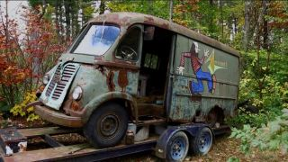 Aerosmith's tour van