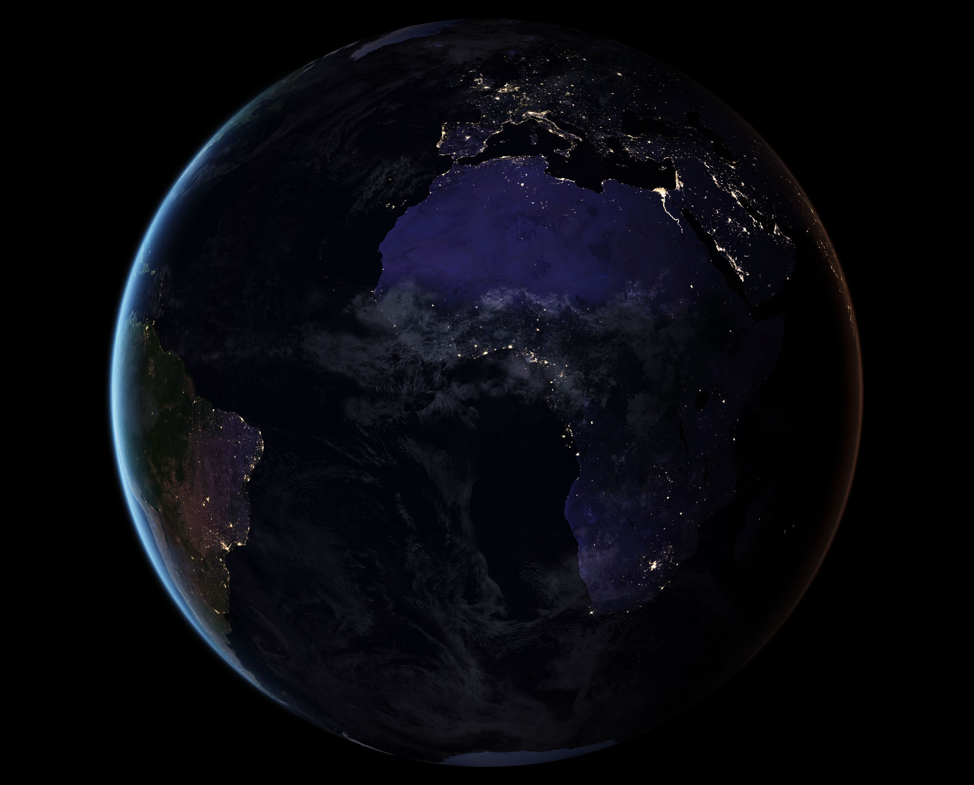 Black Marble: Amazing Earth at Night Photos from Space | Space