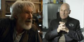 Star Wars' Harrison Ford And Star Trek's Patrick Stewart Share A Birthday And I Can't Get Enough