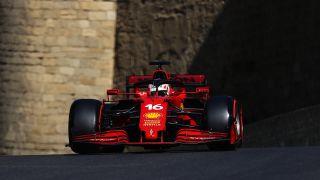 F1 Azerbaijan live stream