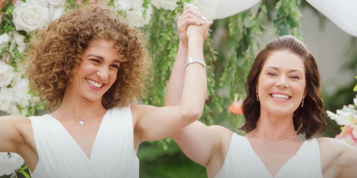 Screenshot from Hallmark's Wedding Every Weekend