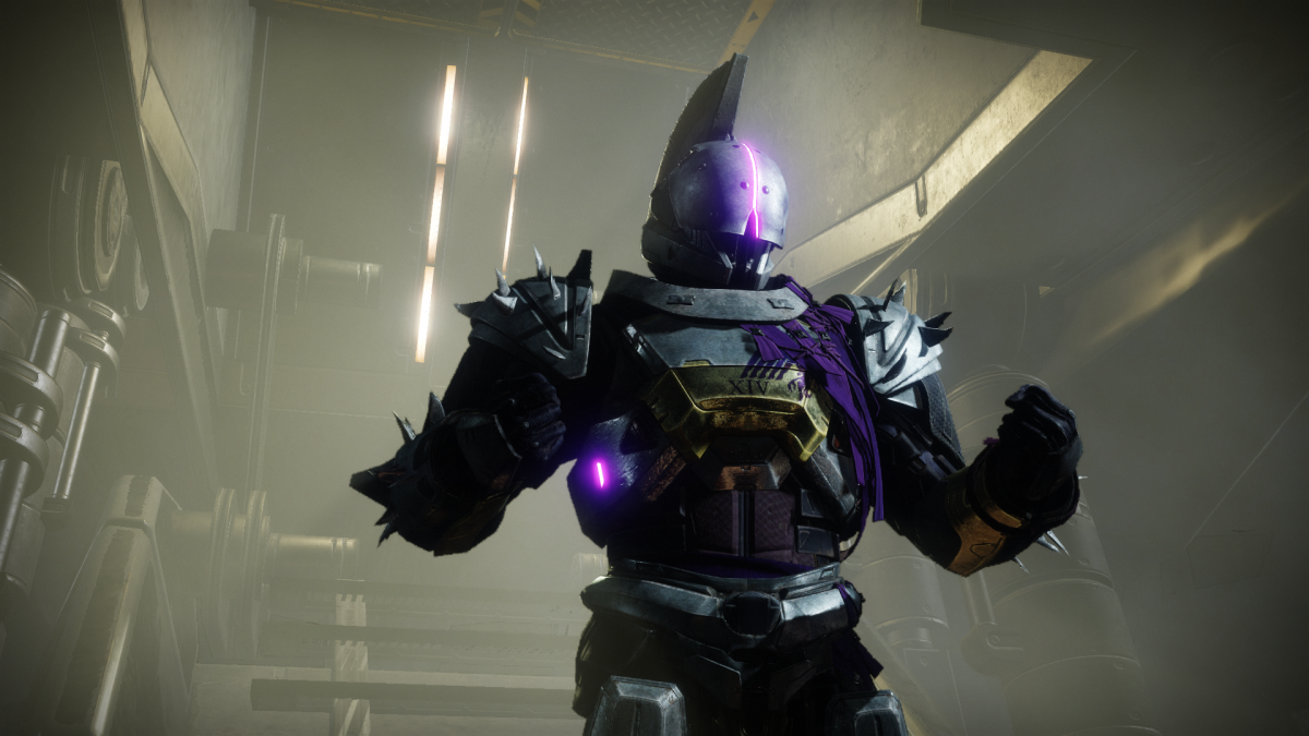 Saint-14 is now in Destiny 2's tower and heavily hinting at the return of Trials