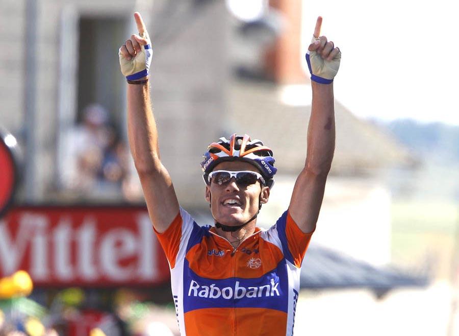 Luis-Leon Sanchez wins, Tour de France 2011, stage nine