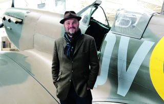 Simon Weston presents a documentary looking at war artefacts such as the Spitfire