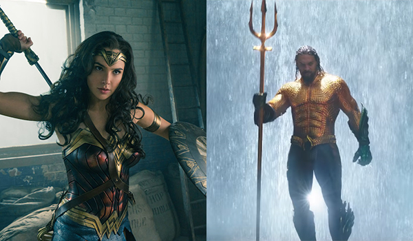 Wonder Woman and Aquaman