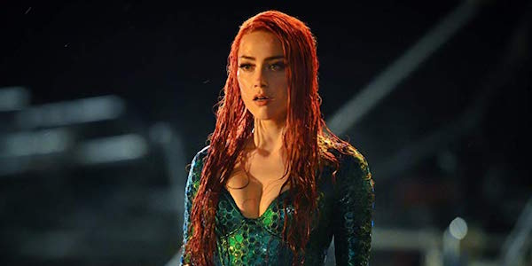 Amber Heard as Mera in Aquaman