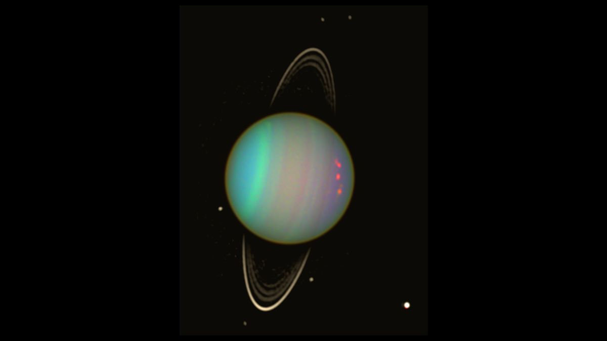 Cosmic Crash That Knocked Uranus Sideways Also Made Its ...