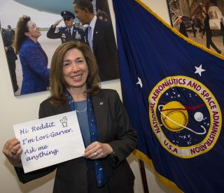 NASA Deputy Chief Lori Garver to Do Reddit Chat