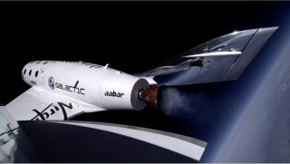 SpaceShipTwo at 71,000 Feet