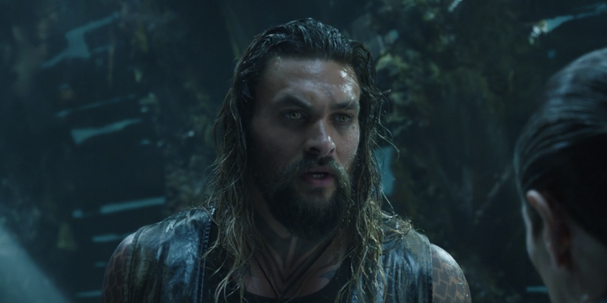 Aquaman talking to Vulko