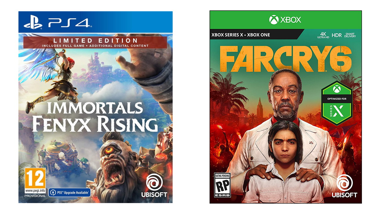 PS4 vs Xbox Series X box art