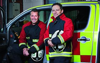 Following the work of the West Midlands fire service, this new series is filmed by the firefighters themselves using special heatproof helmet cameras