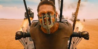 Mad Max performing the role of blood bag.