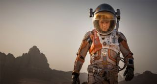 Matt Damon Promotional Image from 'The Martian'