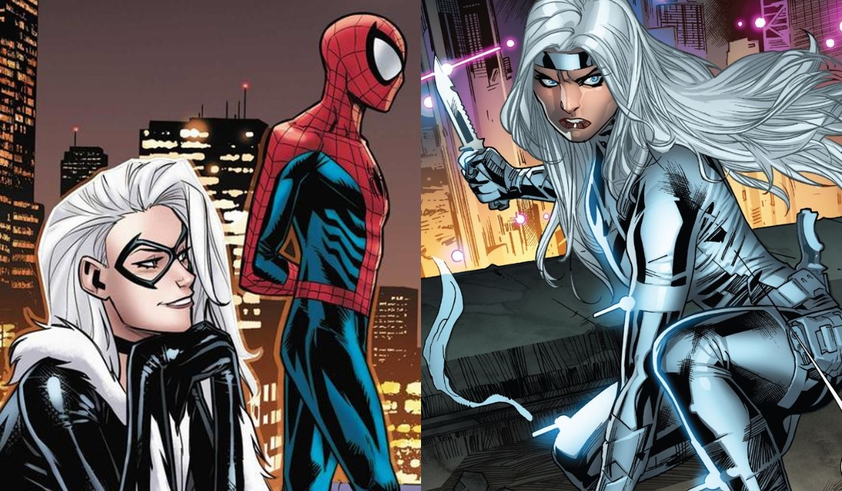 Black Cat, Spider-Man and Silver Sable in Marvel Comics