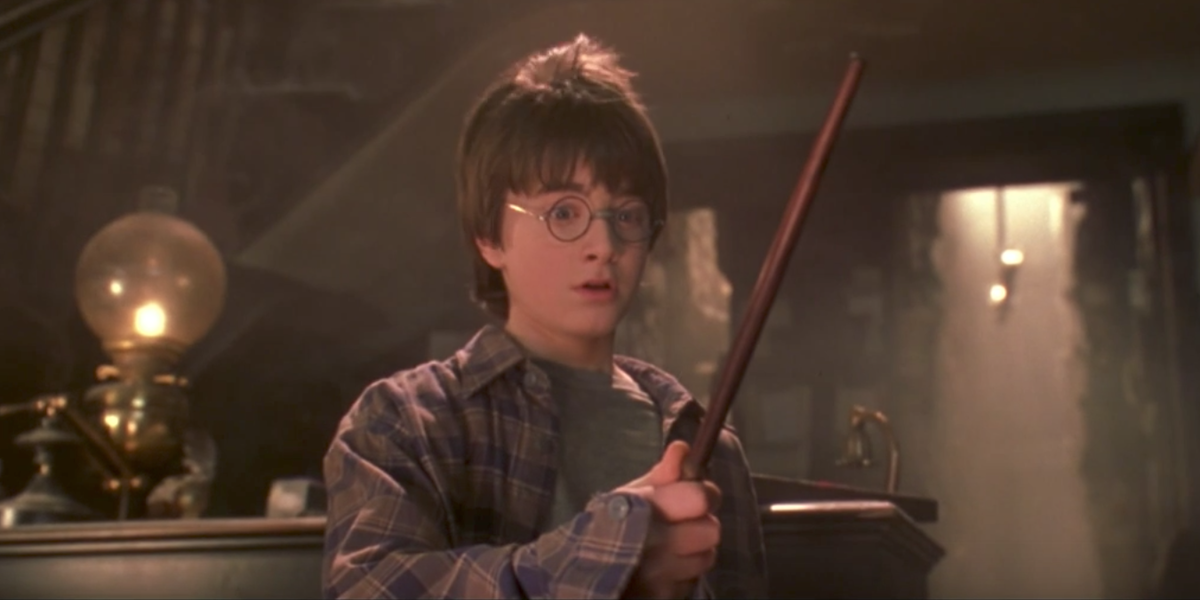 Daniel Radcliffe as Harry Potter in Sorcerer's Stone