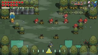 Cadence of Hyrule Lost Woods