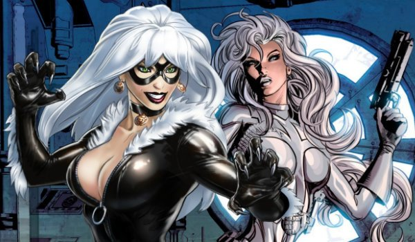 black cat and silver sable spider-man marvel comics