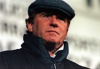 Alan Ball watches FA Cup match