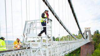 Gigaclear installing broadband at Clifton Suspension Bridge