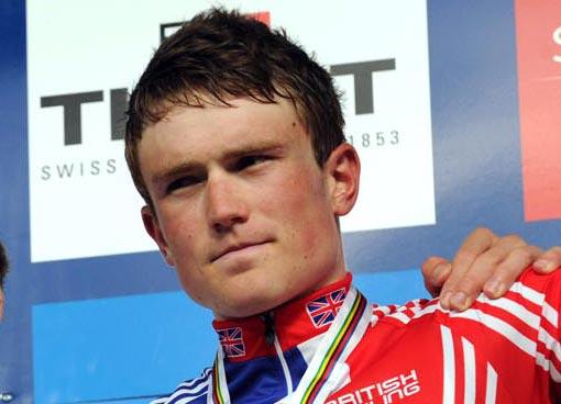 Andrew Fenn, World Champs 2011 under-23 bronze