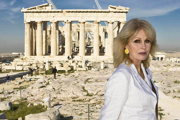 Why Greece is the word for Joanna Lumley...
