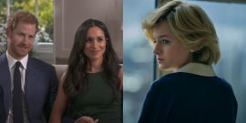 Juicy Rumor Insists Prince Harry And Meghan Markle Want Netflix's The Crown To End Before Their Season