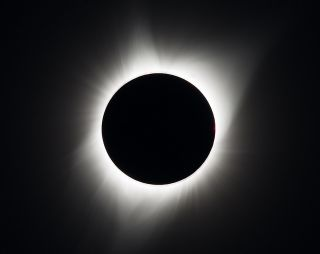 The Great American Solar Eclipse of Aug. 21, 2017, as seen over Madras, Oregon.
