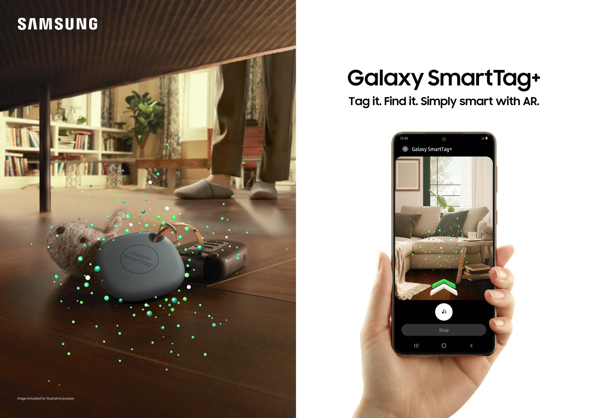 Samsung Galaxy AirTag+