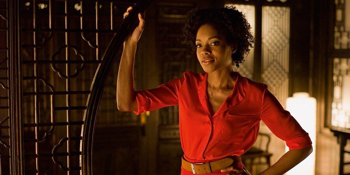 Naomie Harris as Eve Moneypenny, Skyfall