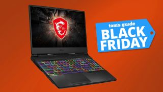 MSI GL65 black friday gaming laptop