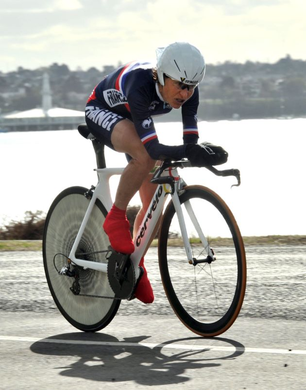 Jeannie Longo, World Championships 2010, women time trial