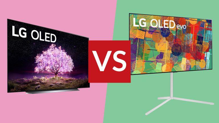 LG C1 vs LG G1