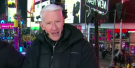 So, Anderson Cooper Was Wearing Heated Clothes During The New Year's Broadcast