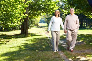 older adults, old people, walking, seniors