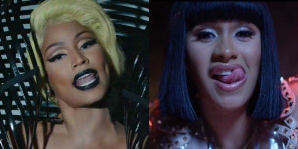 "Nicki Minaj ""Krippy Kush Remix"" Music Video / Cardi B ""Bodak Yellow"""