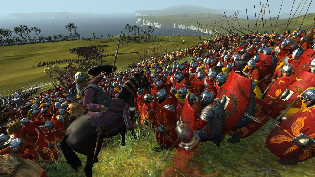 Total War Rome 2 Empire Divided Out This Week Drops New Blood Spilling Trailer Pc Gamer