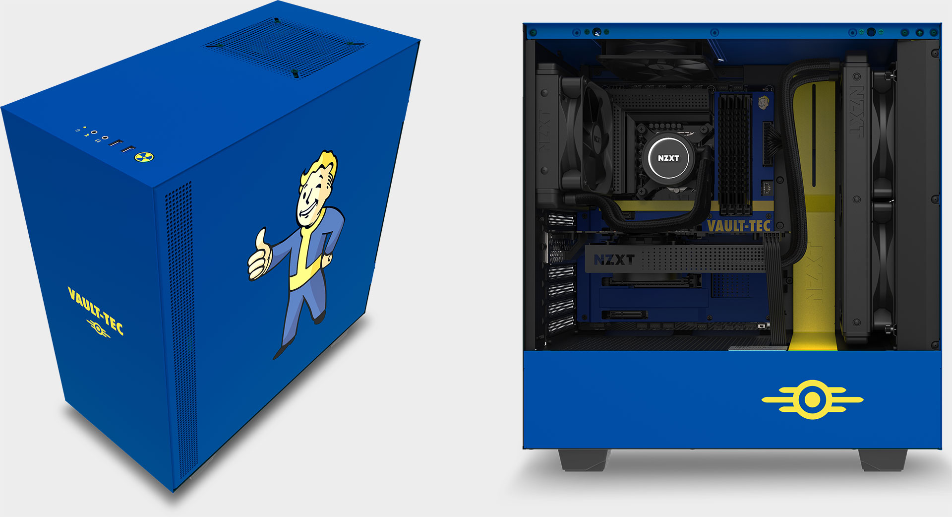 For nearly $500, you can own a Fallout-themed case and motherboard