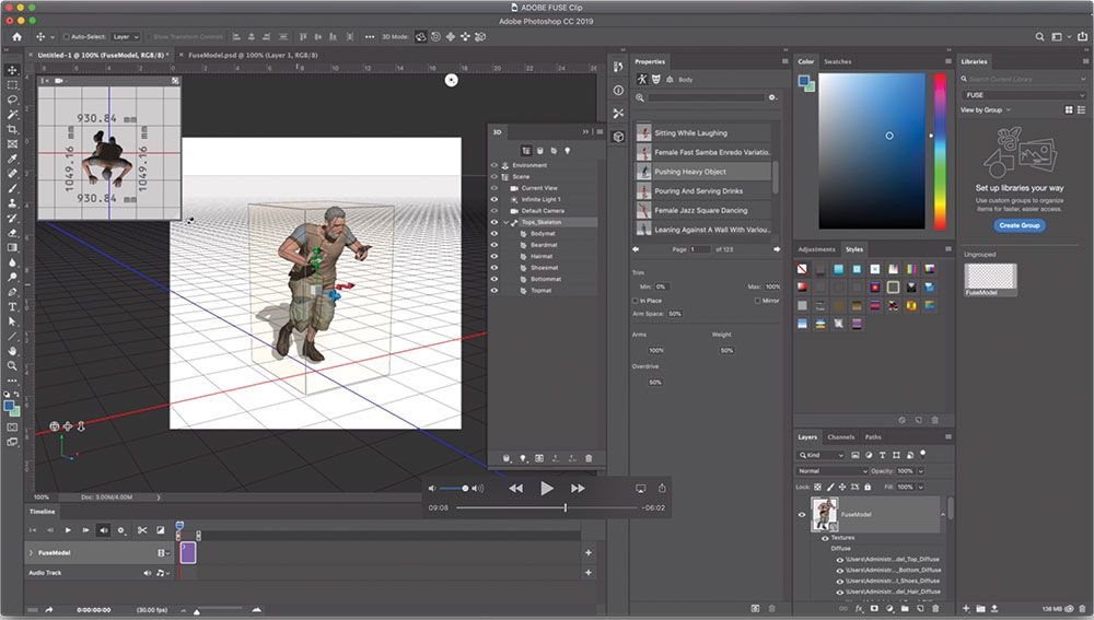 Adobe Fuse: What it is and how to use it to create 3D characters