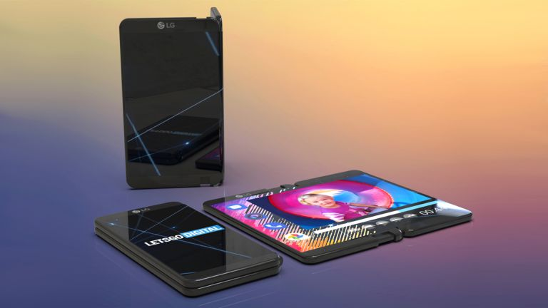 LG foldable phone concept