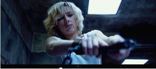 Scarlett Johansson Gun