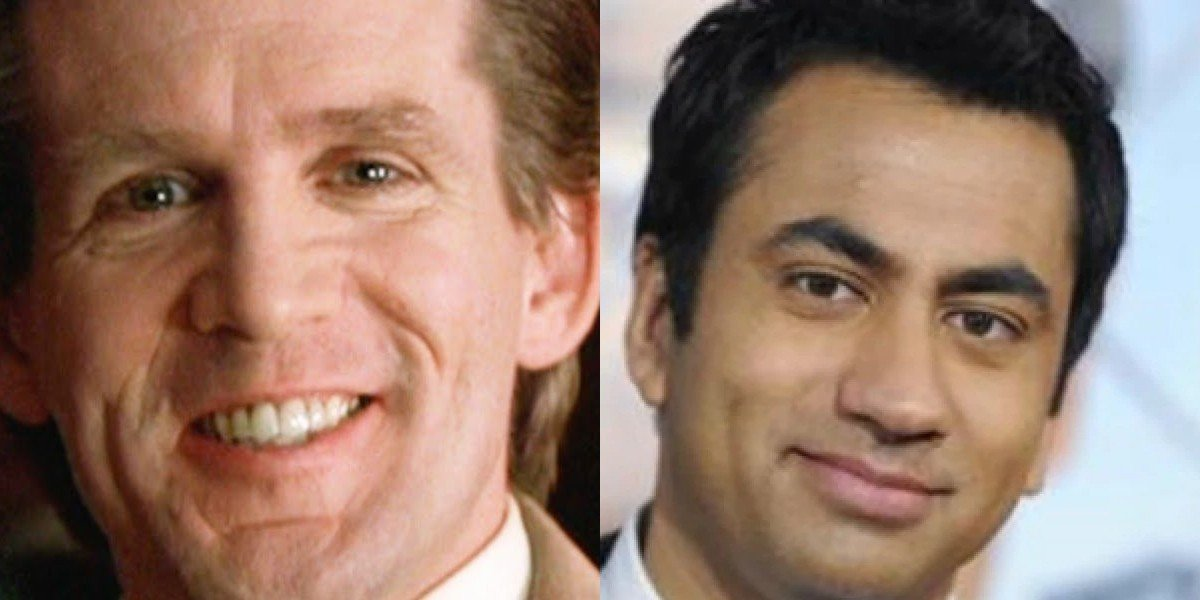 Anthony Heald on the left, Kal Penn on the right