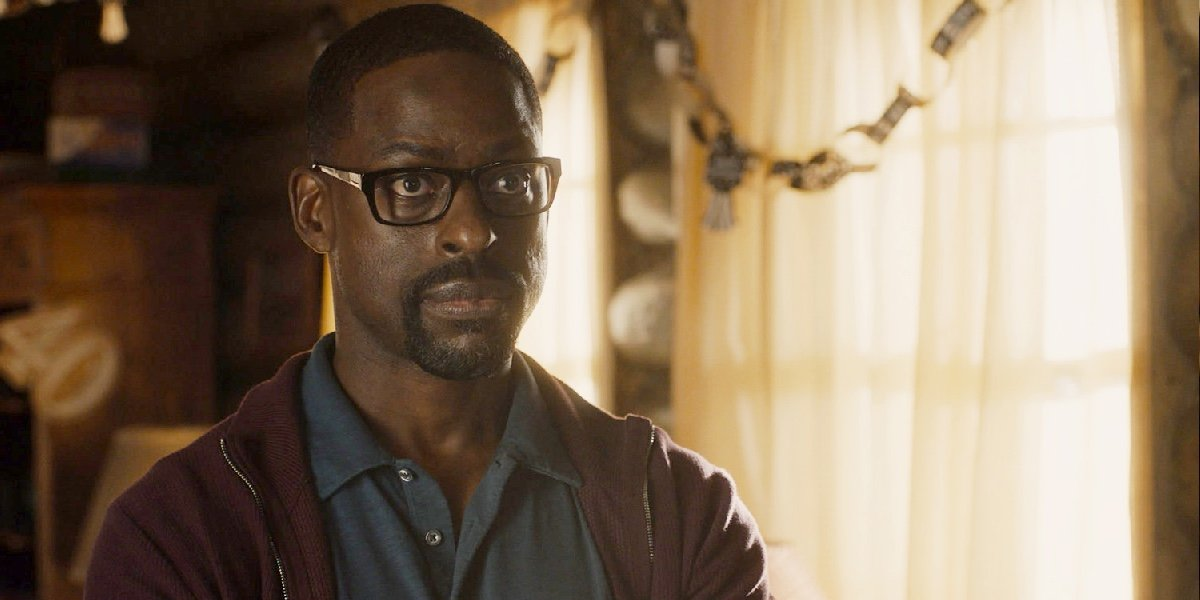 Sterling K. Brown as Randall Pearson on This Is Us.