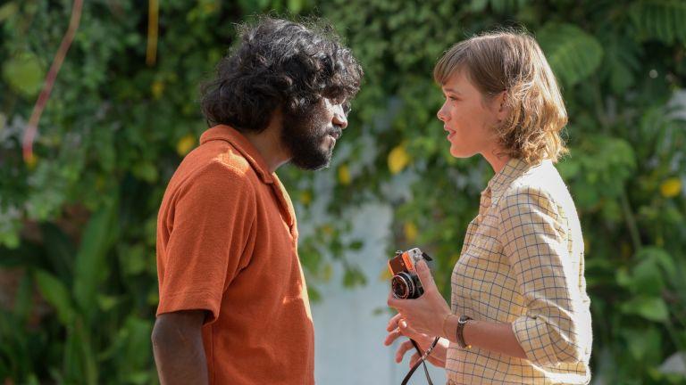 The Serpent's Ajay Chowdhury, played by Amesh Edireweera, alongside Mathilde Warnier, who played Nadine Gires