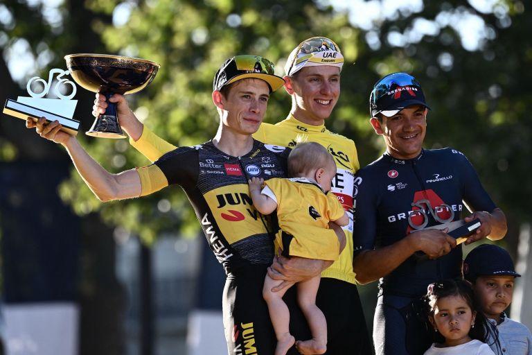 Tour de France 2021 podium